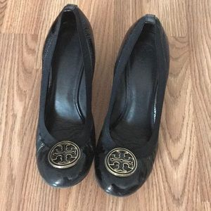Tory Burch size 11 wedge heel shoes